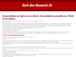 Guérisseur médecine douce soins énergétiques sur http://www.art-de-guerir.fr