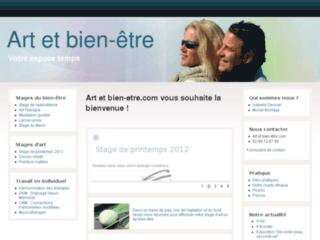 Stages d'art et de bien-être en Bretagne sur http://www.art-et-bien-etre.com