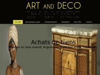 ART AND DECO, antiquaire brocanteur à Pau, Pyrénées-Atlantiques Nouvelle-Aquitaine