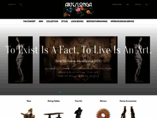 Capture du site http://www.arteslonga.com/