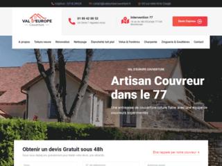 Détails : Val d'Europe, votre entreprise de toiture et charpente du 77