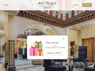 Détails : Un séjour pas comme les autres à l'Art Place Marrakech