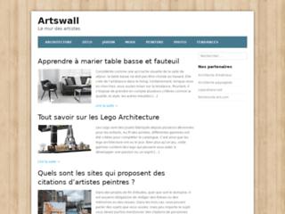 Aperçu du site Artswall