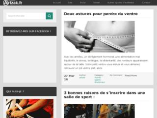 Site Web du blog Artzak