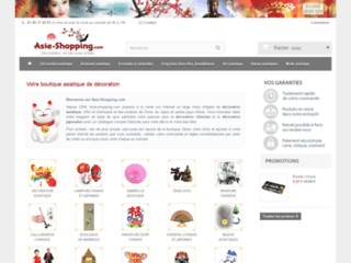 Capture du site http://www.asie-shopping.com