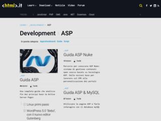 Info: Scheda e opinioni degli utenti : asp.HTML.it - Guide, Approfondimenti e articoli riguardanti ASP