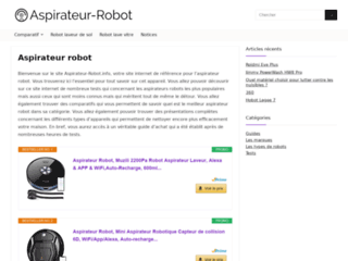 Détails : Aspirateur Robot.info