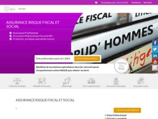 Détails : Assurance risque fiscal