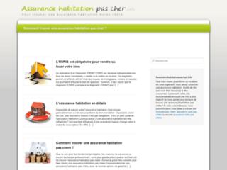 Détails : assurancehabitationpascher.info