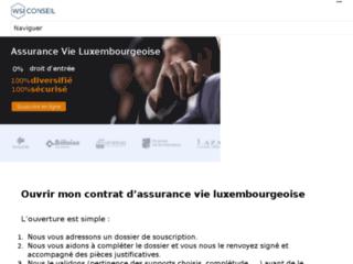 Détails : Conseil et suivi pour souscrire à une assurance vie luxembourgeoise