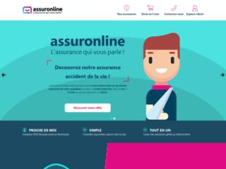Capture du site http://www.assuronline.com