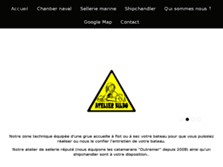 Chantier Naval Atelier Bilbo – Balaruc-les-Bains – Sellerie Marine
