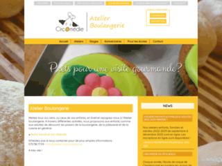 Capture du site http://www.atelier-boulangerie.be