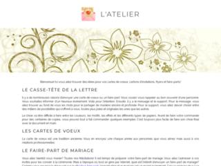 Faire Part Mariage Design - Atelier 81