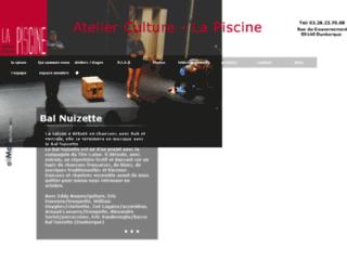 Capture du site http://www.atelierculture.fr