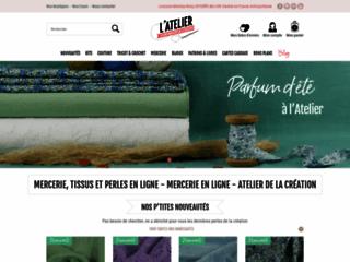 Atelier de la création – tissu coton.