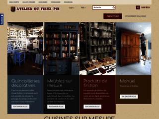 Fabricant & designer de meubles anciens & de cuisine..