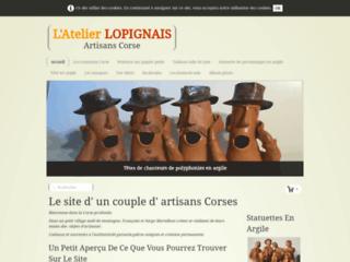 L'atelier lopignais, artisanat d'art en Corse