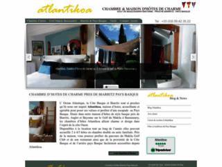 Atlantikoa chambre d'hôtes au Pays Basque