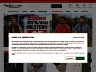 Détails : Atlas for Men, site spécialisé en vêtement homme