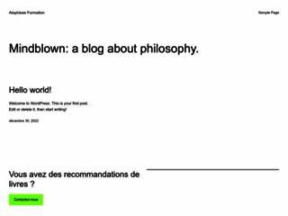 Capture du site http://www.atophisse.com