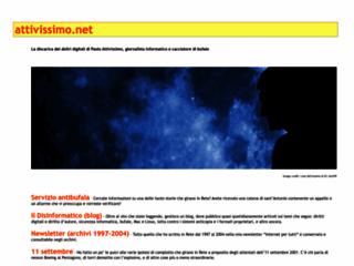 Info: Scheda e opinioni degli utenti : Paolo Attivissimo - Antibufala, Acchiappavirus, Internet, Complotti