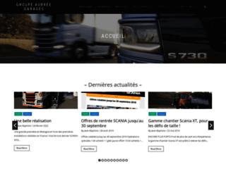 Garage Aubrée - Concessionnaire Scania à Rennes