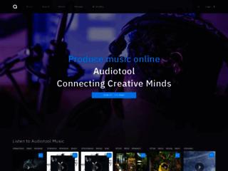 Audiotool Crea Musica Online, Studio di produzione musicale Online