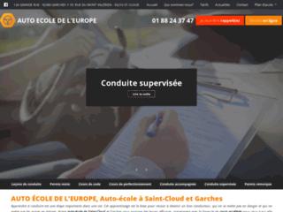 Permis de conduire Saint-Cloud, Garches