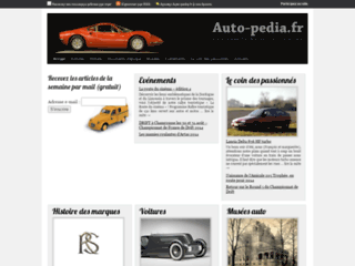 Capture du site http://www.auto-pedia.fr/