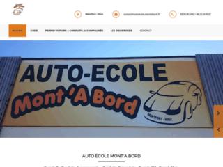 Auto-école Mont' A Bord - Auto-école Montrfort-en-Chalosse et Hinx