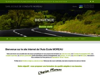 www.autoecolemoreau.com