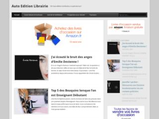 Aperçu du site Auto Edition Librairie
