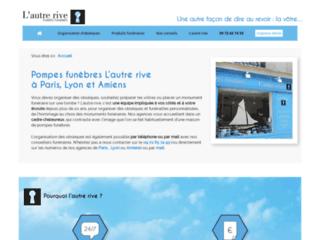L'Autre rive, l'expert en services funéraires personnalisés à Paris et à Lyon