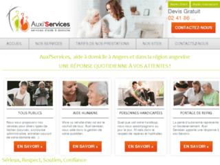 Auxi'Services - Services d'aide � domicile � Angers