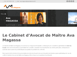 avamagassa-avocat.com, avocat à Montpellier