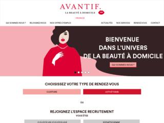 Aperçu du site Avantif