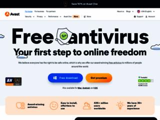 avast! Free Antivirus - Free Antivirus Download