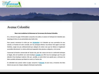 Artisanat et commerce équitable de Colombie