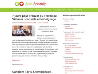 Découvrez le site avis-produit.fr