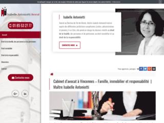 Cabinet d'avocat à Vincennes