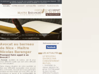 Avocat à Nice - Maître Baranger