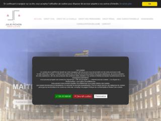 Détails : Avocate professionnelle à Dijon