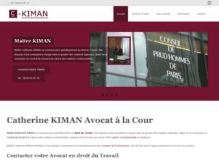 Droit social et du travail, Avocat Kiman, Paris (75)