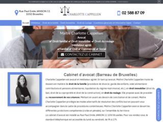 Avocat mediateur à Bruxelles - Maître Charlotte Cappellen