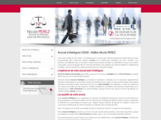 Maître Nicole Perez, avocat à Martigues