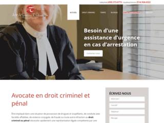 Détails : Avocate criminaliste à Vaudreuil