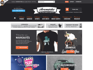Tee-shirts originaux et personnalisés : Avomarks.fr