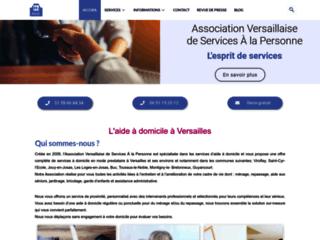 Capture du site http://www.avsap.fr/index.html