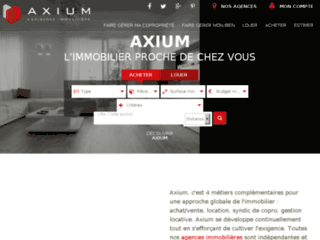 Détails : Axium, agence immobilière Paris